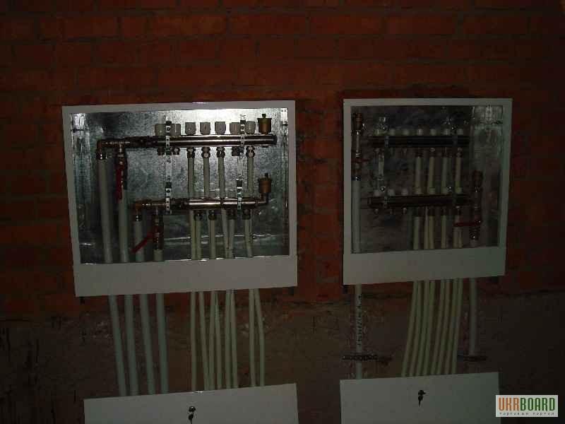 Фотогалерея - Установка коллектора для автономной системы отопления.